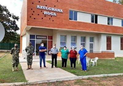 Azulgrana Roga ya es centro de albergue para contagiados por Covid-19