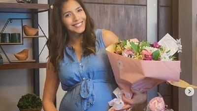 Silvita Romero fue sorprendida con un 'BabyShowerVirtual'