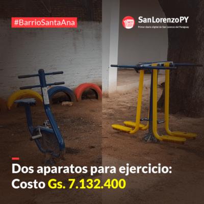 """Más trabajos de """"oro"""" en plazas públicas"""