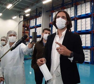 Tapabocas de producción nacional serán destinadas al extranjero, asegura Roque