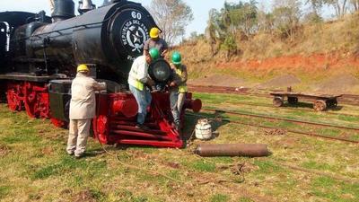 """Locomotora """"El inglés"""", lista para revivir 156 años de historia paraguaya"""