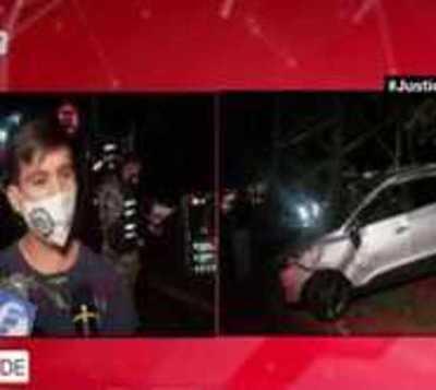 Camión causa varios daños materiales en CDE