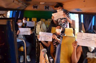 Retornan a sus hogares más de 130 repatriados que dieron negativo al COVID-19