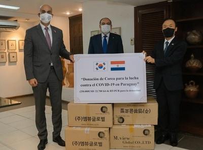 Corea entregó a Salud más de 20.000 pruebas rápidas de COVID-19