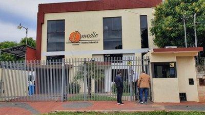Allanan oficinas de Imedic