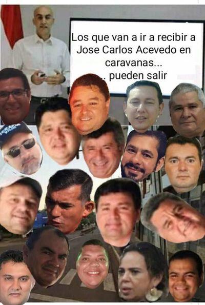 Maldad: Políticos se agrupan para mentir e implicar al intendente de Pedro Juan Caballero