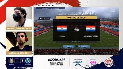 Sol de América, el primer semifinalista de la eCopa