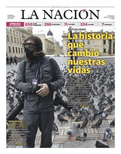 Edición impresa, 24 de mayo del 2020