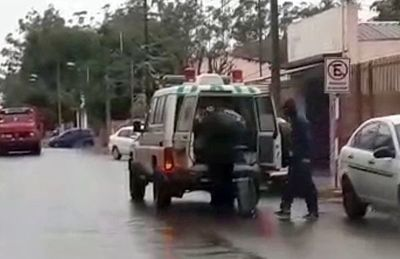 Denuncian uso indebido de ambulancia