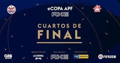 Sigue la acción de cuartos de la eCopa APF