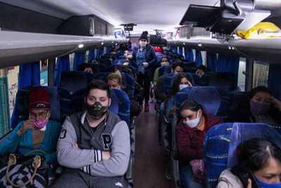 Hoy llegan vía terrestre 120 compatriotas desde Argentina