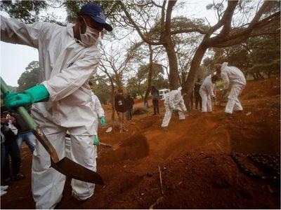 Covid-19: Brasil pasa los 360.000 casos y los muertos suman 22.666