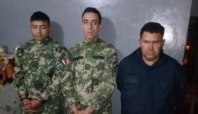 Imputan a dos militares y un falso policía por intento de robo de carga de soja