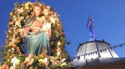 Celebraron su día a María con medidas de salud