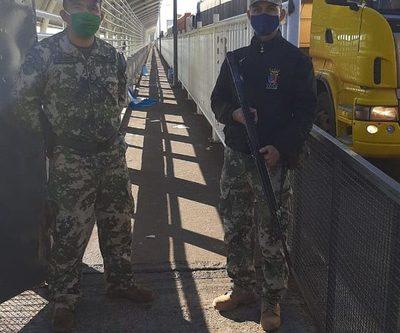 Puente de la Amistad permanece libre de connacionales