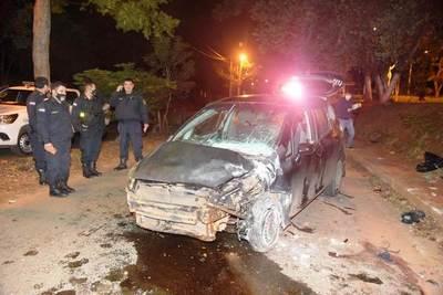 Fatal accidente en Ñemby • Luque Noticias