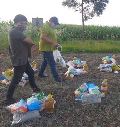 Continúa la asistencia alimentaria y capacitación a comunidades indígenas