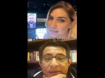 Viralizan video de Clari siendo argel con su doña