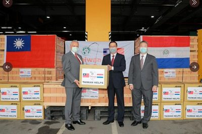 Taiwán: envía insumos médicos al Paraguay – Prensa 5