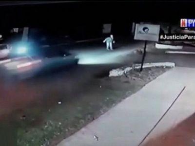 Adolescente de 14 años salió a cargar saldo y atropelló a un hombre