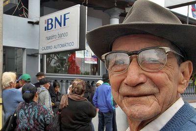 Beneficiarios de pensiones no contributivas cobrarán este viernes