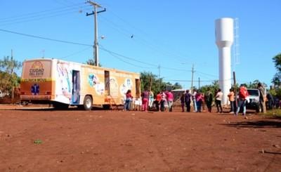 Clínica Móvil Municipal ya brinda asistencia médica en asentamientos
