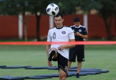 Jugador de Olimpia cree conveniente tener un protocolo de entrenamiento colectivo