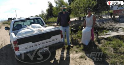 Productores de Itapúa reciben semillas de abono verde