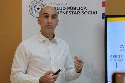 Mazzoleni anunció sumario de funcionarios del MSP y la rescisión de contrato con IMedic y Eurotec