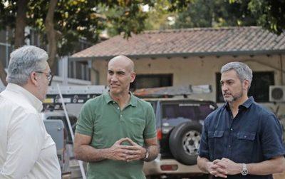 Abdo Benítez brinda pleno respaldo a Mazzoleni