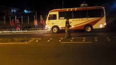 Ministerio de transporte público ikatu ogueraha 10 pasajero ñembo'ýpe