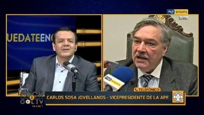 """Sosa Jovellanos: """"Todavía hay cuestiones que estudiar"""""""