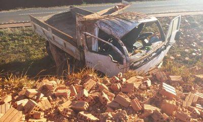 Violento accidente en Yguazú