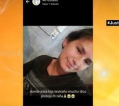 Buscan a adolescente de 13 años desaparecida hace una semana