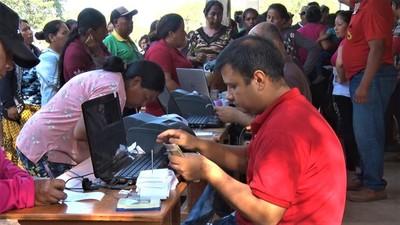 Capacitan a la Junta Departamental de Boquerón acerca del programa Tekoporâ