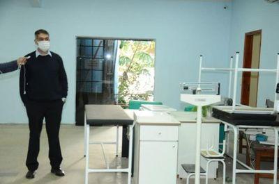 Gobernación de Amambay invirtiendo en el área de salud