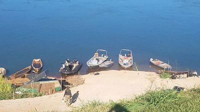 Requisan nueve embarcaciones durante patrullaje en la frontera