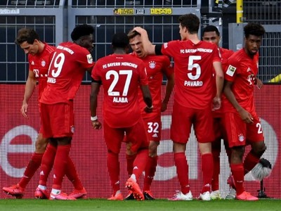 El Bayern se impone en terreno del Dortmund