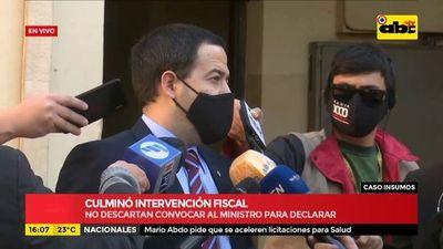 Intervención fiscal en el Ministerio de Salud: llamarán a declarar a los involucrados
