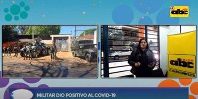 Militar que custodiaba albergues da positivo a Covid-19