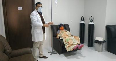 Hospital Regional de CDE  inició sesiones de quimio