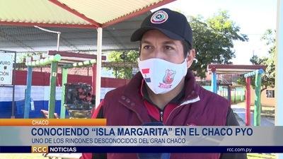 """CONOCIENDO LA HERMOSA """"ISLA MARGARITA"""" EN EL CHACO PARAGUAYO"""