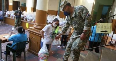 Hoy concluye tercera entrega de kits alimenticios a instituciones de la capital