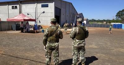 Militar que hizo guardia da positivo al COVID-19