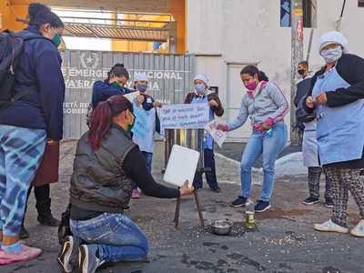 Denuncian que 40.000 bañadenses se ven afectados por la falta de insumos para las ollas populares
