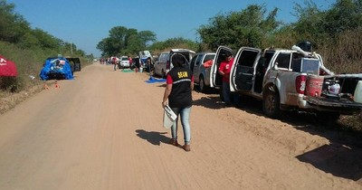 SEAM realizó controles a los espectadores del Transchaco Rally