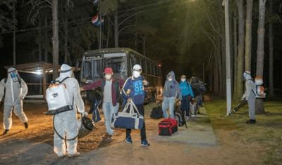 Unos 1.600 repatriados cumplen cuarentena en albergues y casi 4.000 ya retornaron al país