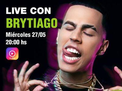 Meli Quiñonez entrevistará hoy al cantante Brytiago