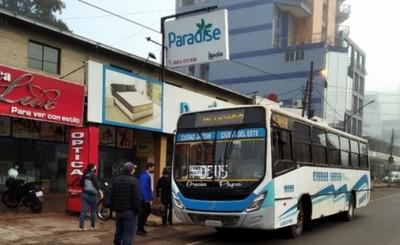 Municipalidad de CDE mantiene los controles preventivos en colectivos