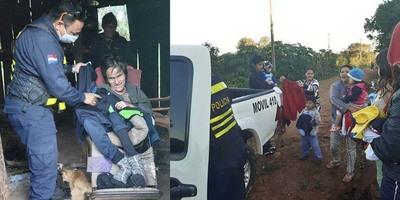 POLICÍA ENTREGÓ DONACIÓN DE ABRIGOS EN HUMILDE ZONA DE CAMPICHUELO.